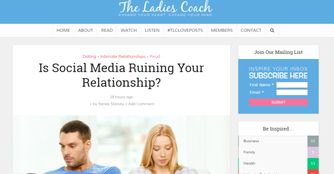 the ladies coach guest post
